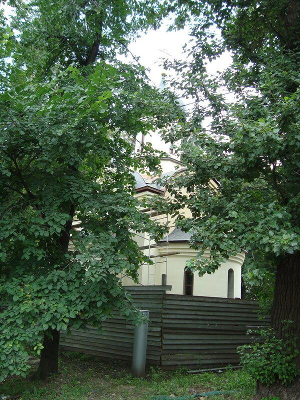 Москва. Часовня святого Дмитрия Донского