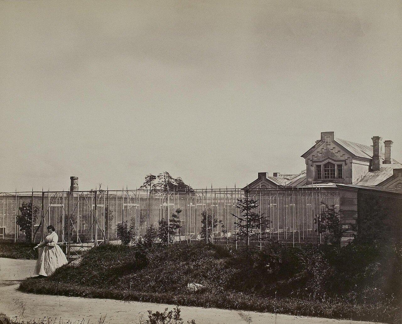 Домик птичника и садовника в усадьбе графа Строганова в Волышово 1880-е