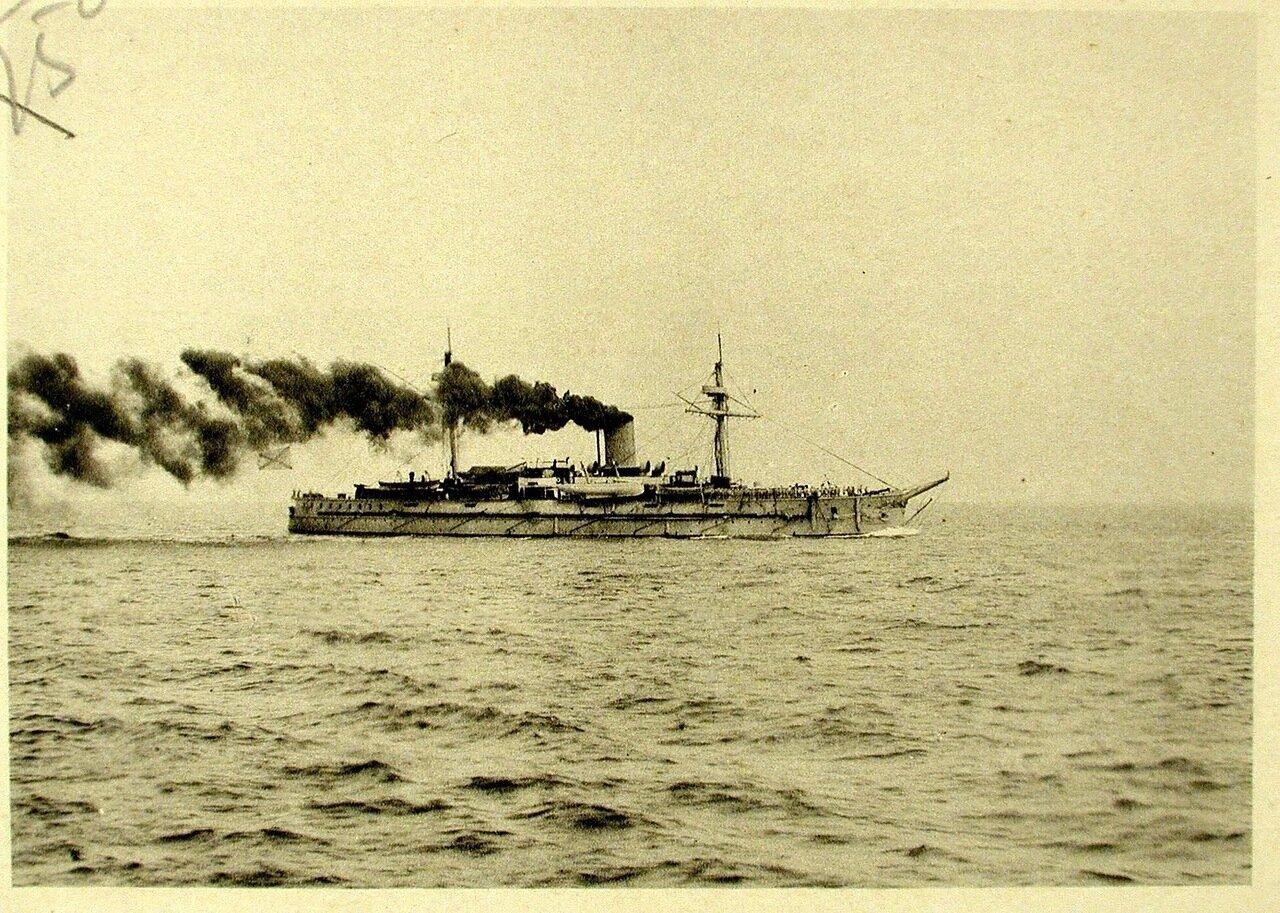 24. Крейсер I-го ранга Адмирал Нахимов. Чифу. 29 апреля 1895