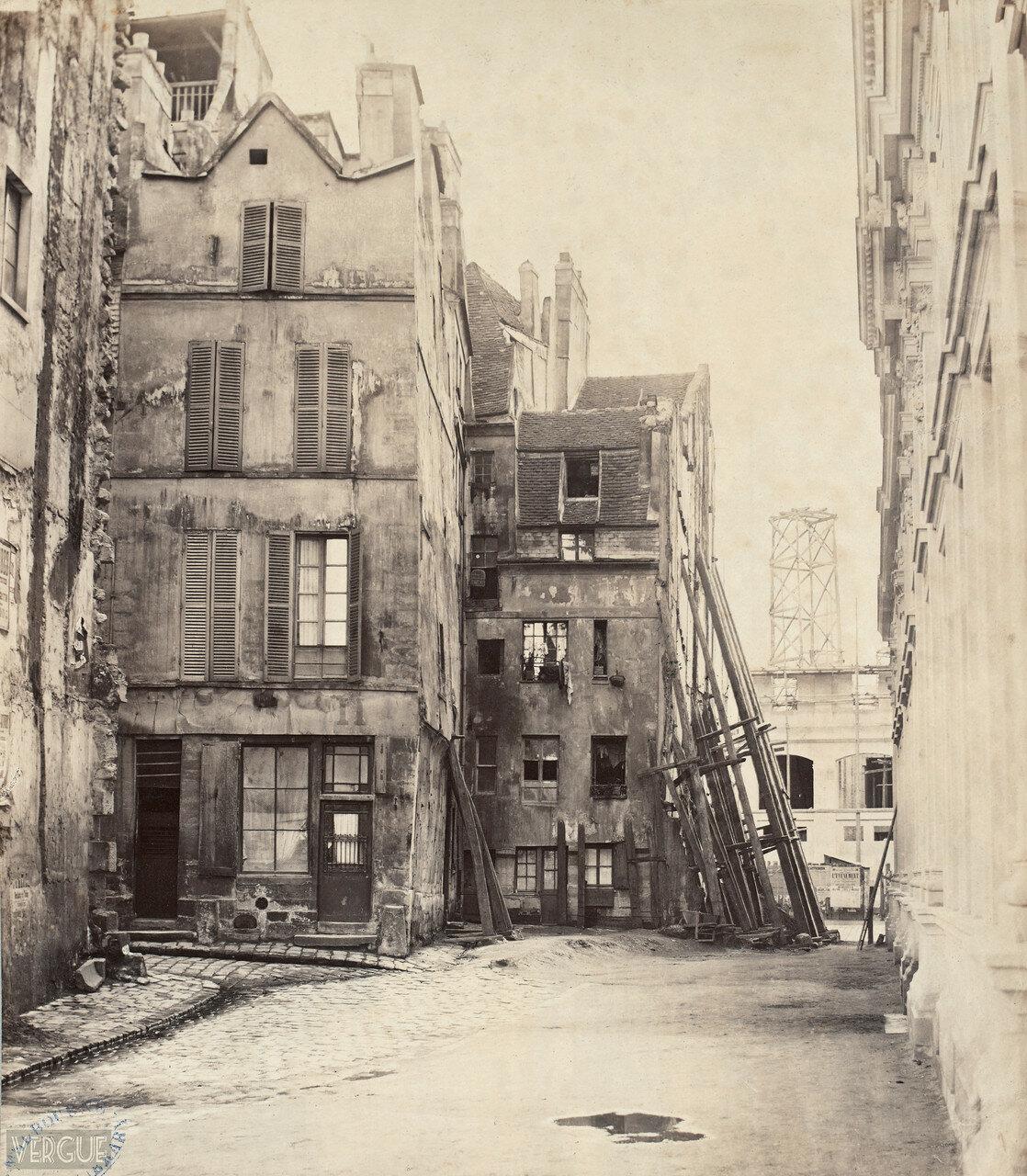 Улица Цветочного рынка. 1865