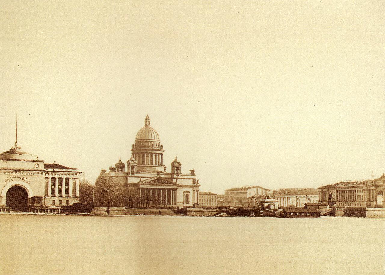 Нева. Адмиралтейство. 1860-е