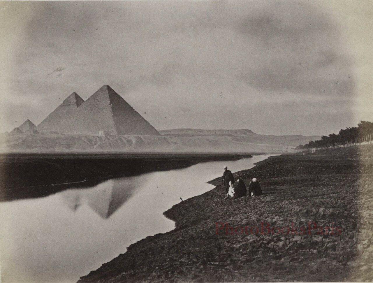 Гиза. Вид на Пирамиды. 1880-е
