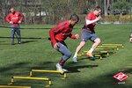 Спартак продолжает тренировки в Белеке