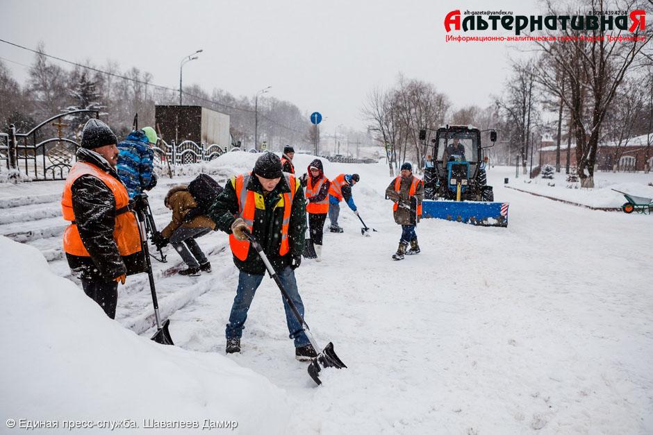 Уборкой территорий Сергиева Посада занялось МБУ