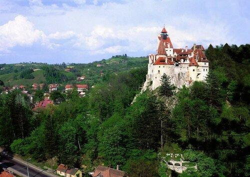 Замок дракулы в Румынии
