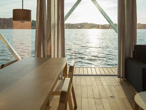 Плавучий дом - мобильный дом