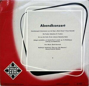 Abendkonzert (1955) [Telefunken, LB 6022]