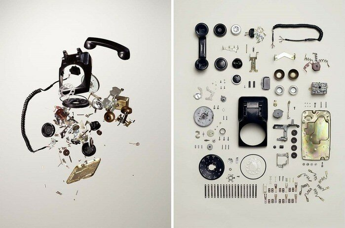 Тодд Маклеллан. Фотографии сломанных и разобранных вещей