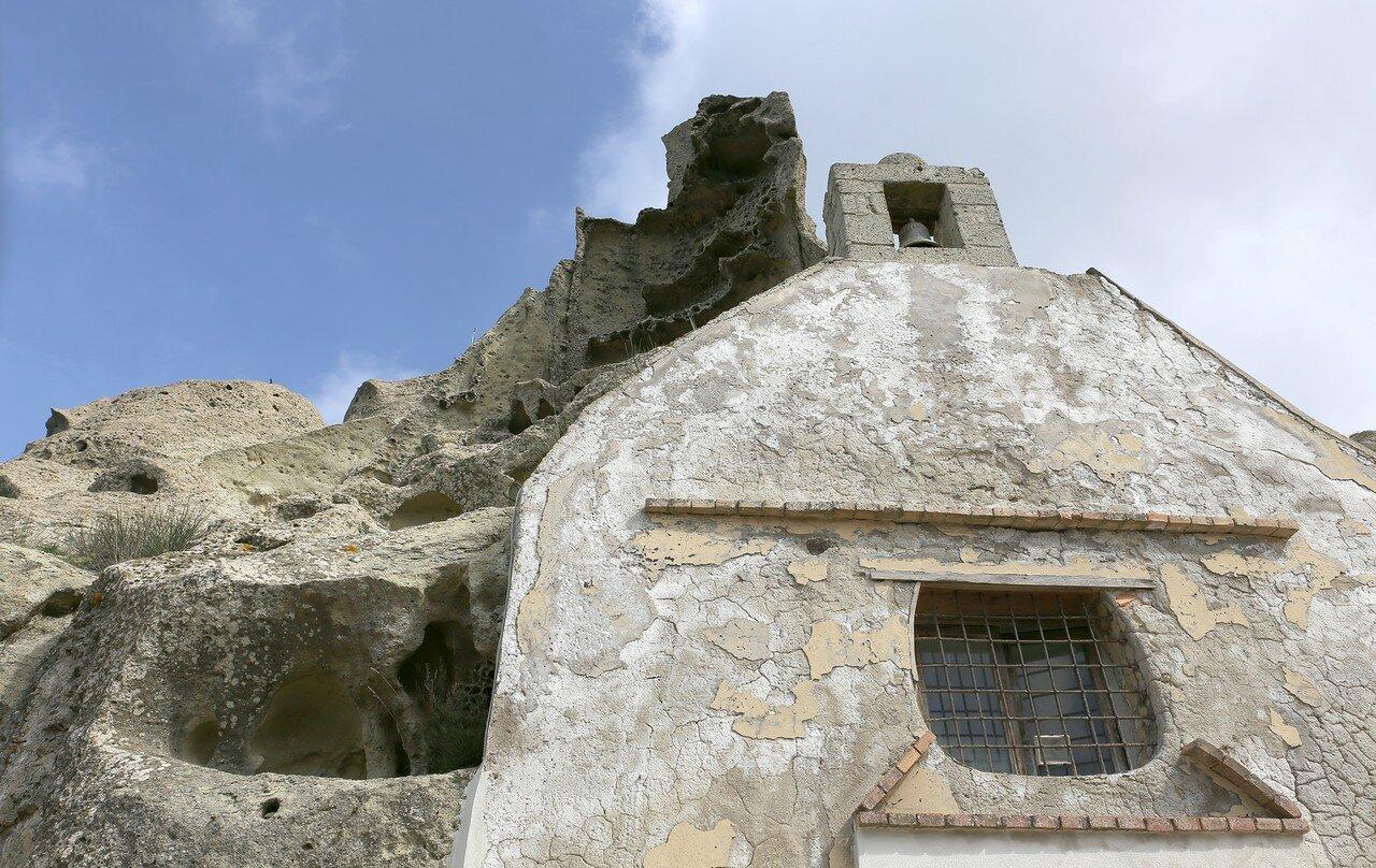 Ischia. Monte Epomeo. The Church of St. Nicholas