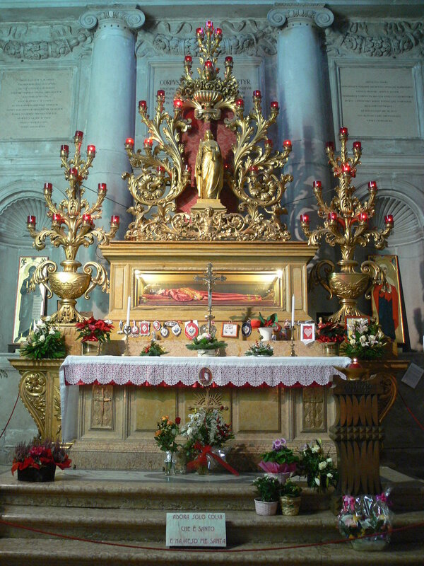 Venezia - San Geremia - Saint Lucy relics