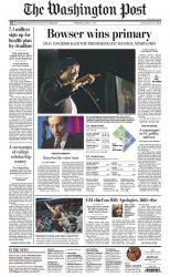 Журнал The Washington Post (2 April 2014)