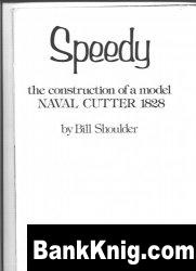 Книга Speedy the construction of a model NAVAL CUTTER 1828