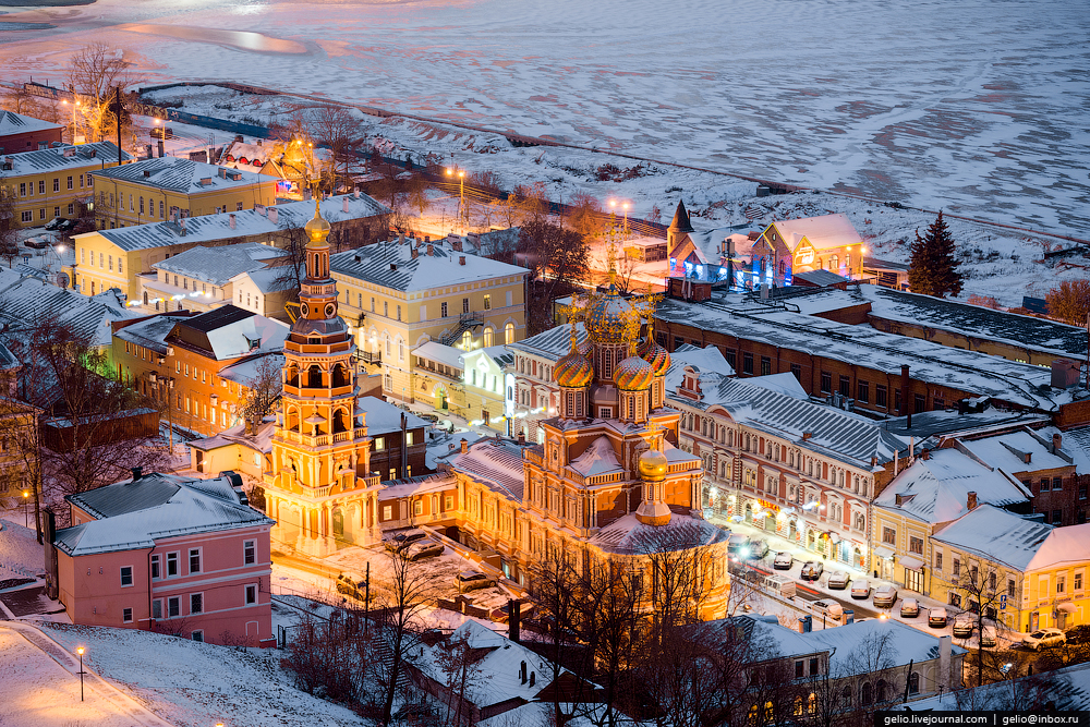 Фото зимний нижний новгород