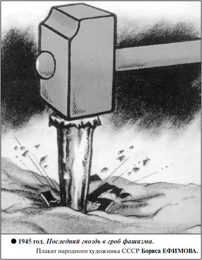 1945 год-Последний гвоздь в гроб фашизма