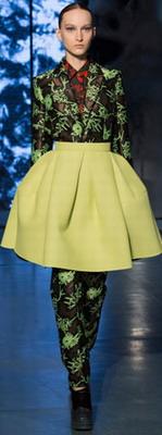 Модная юбка осенью