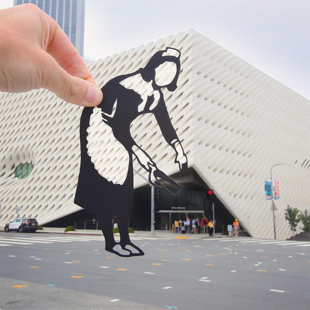 Paper Cutouts by 'Paperboyo' Transform World Landmarks into Quirky Scenes