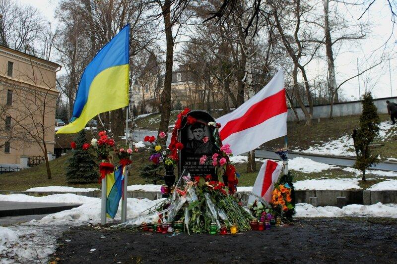 Первая жертва Евромайдана Михаил Жизневский