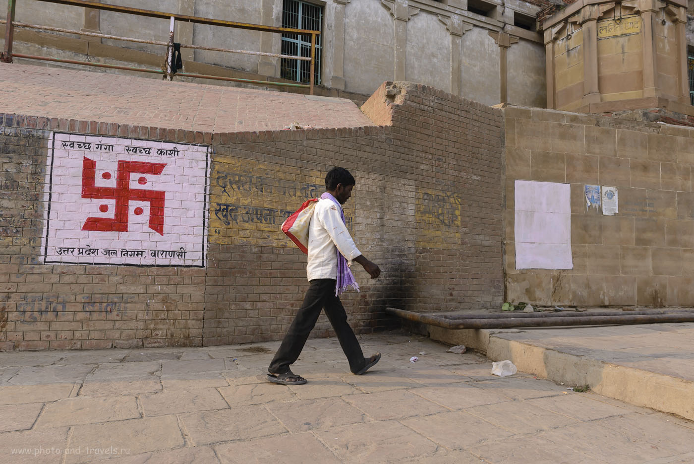 Фотография 12. Отзывы туристов об экскурсии в Варанаси. Свастика. Отзывы об отдыхе в Индии. 1/320, 8.0, 200, 24.