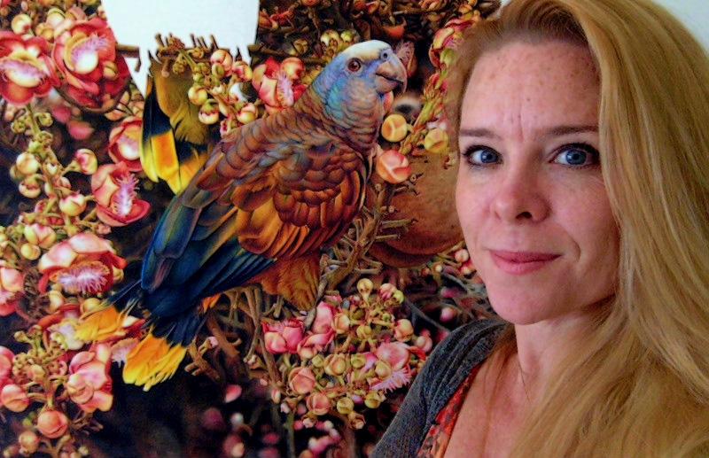 Птицы художницы Хайди Уиллис