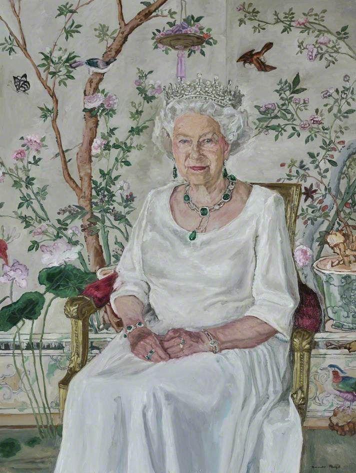 James Lloyd (b.1971) — HM Elizabeth II (b.1926)