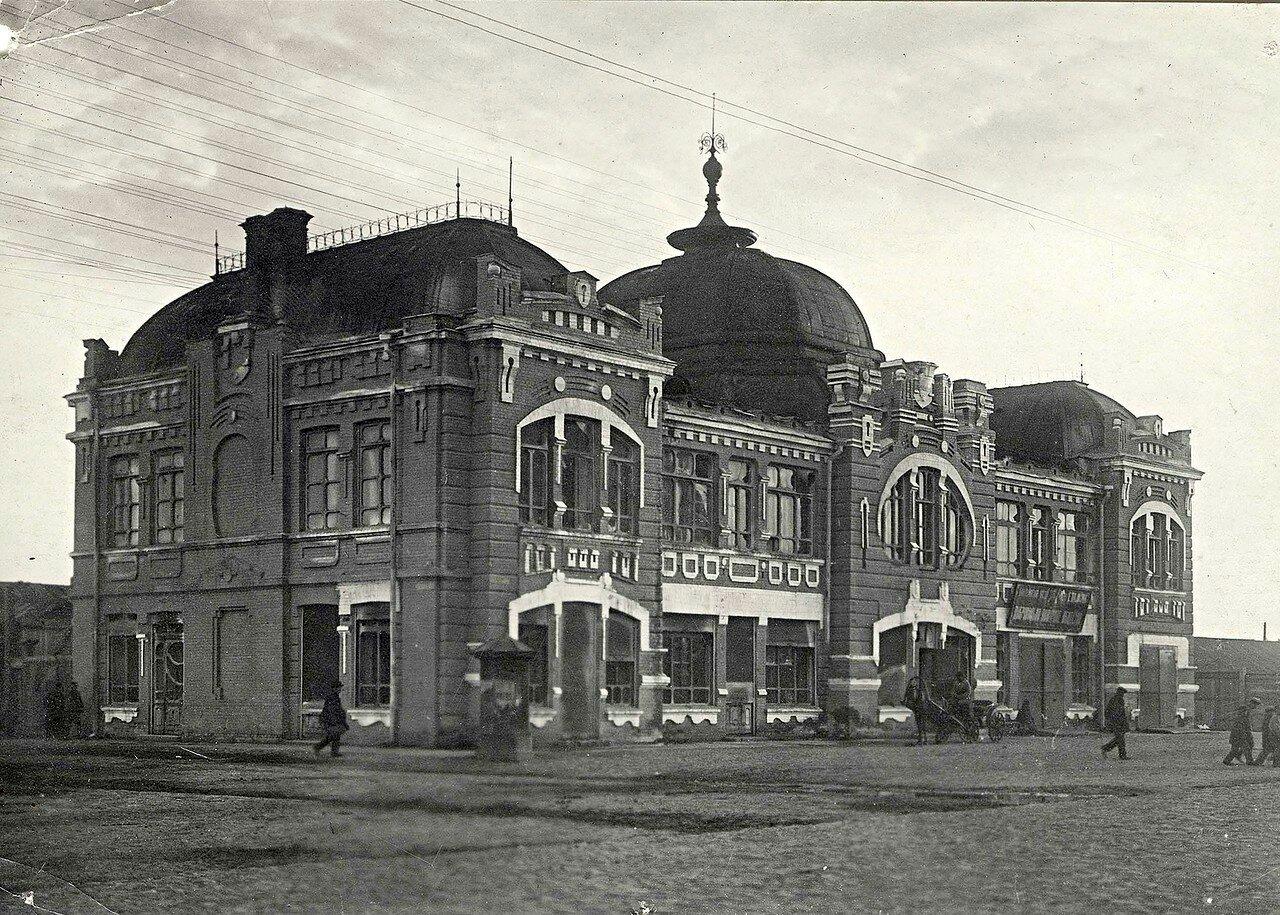 Здание пожарной охраны на Новобазарной площади