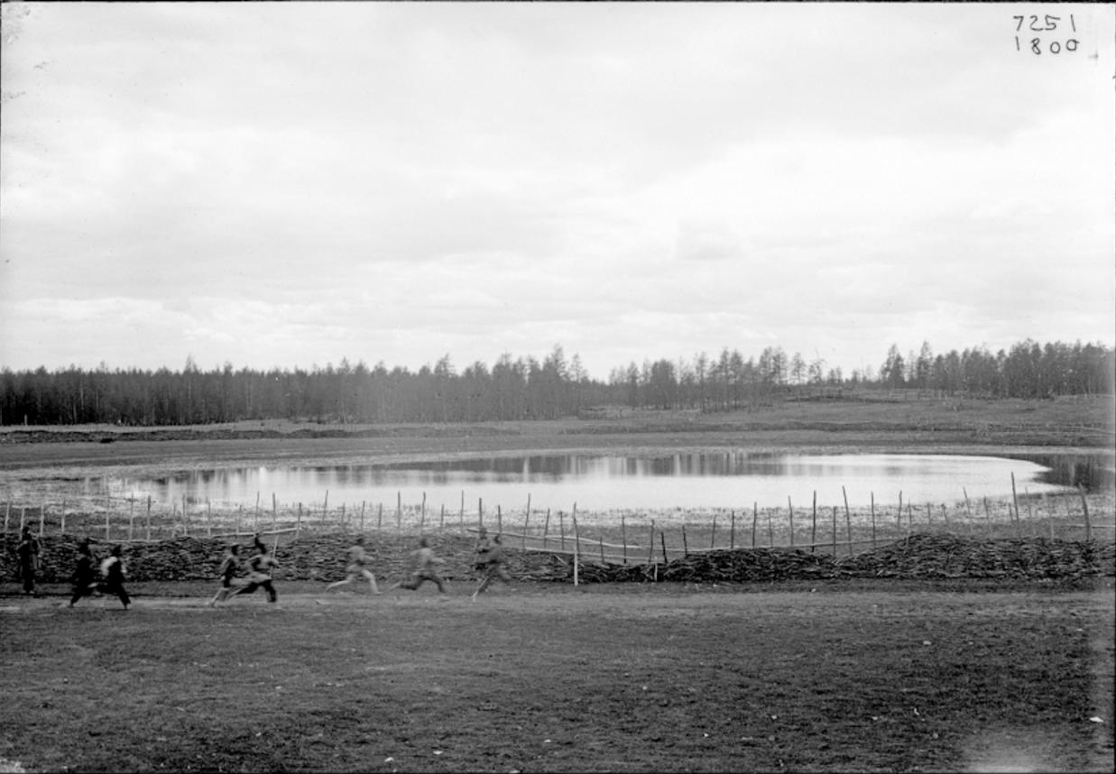 Соревнования якутов в беге, 1902
