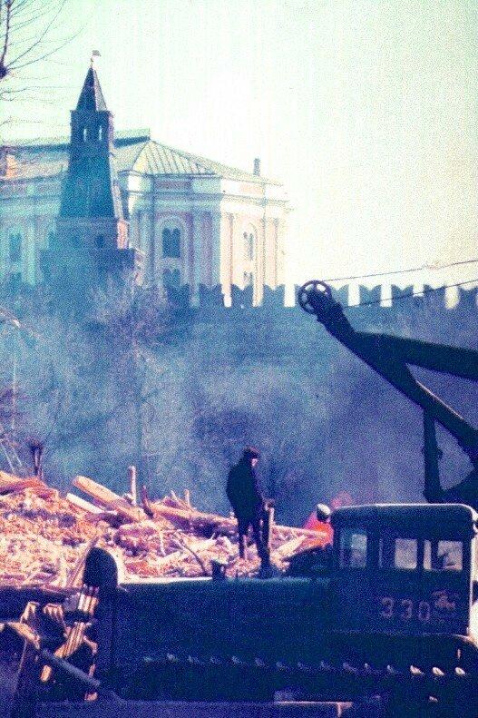 123. 1972. Боровицкая площадь
