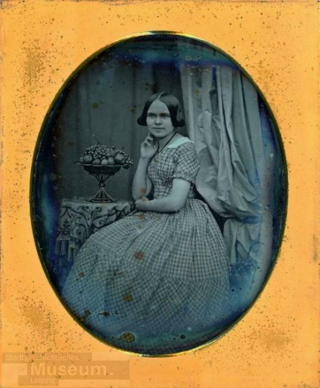 1850-е. Портрет молодой женщины