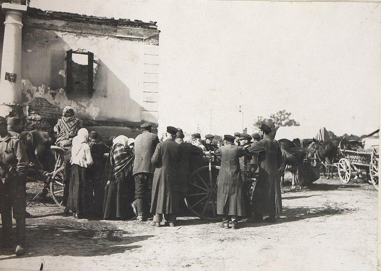 Евреи на рынке Владимира-Волынского