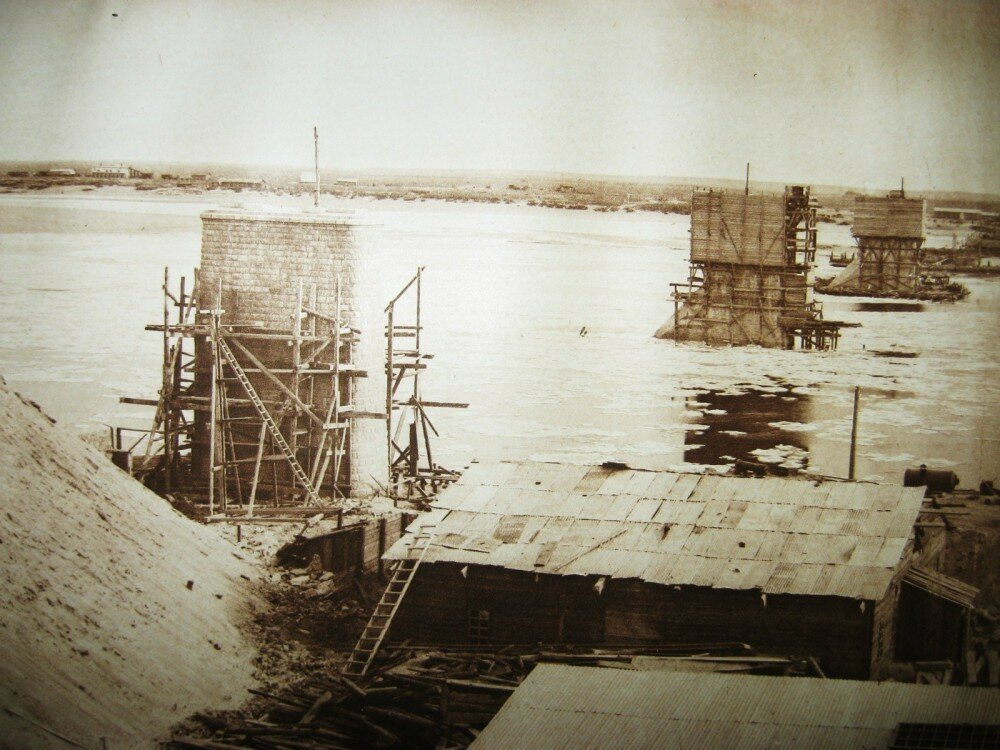 01. Постройка Белогорского моста