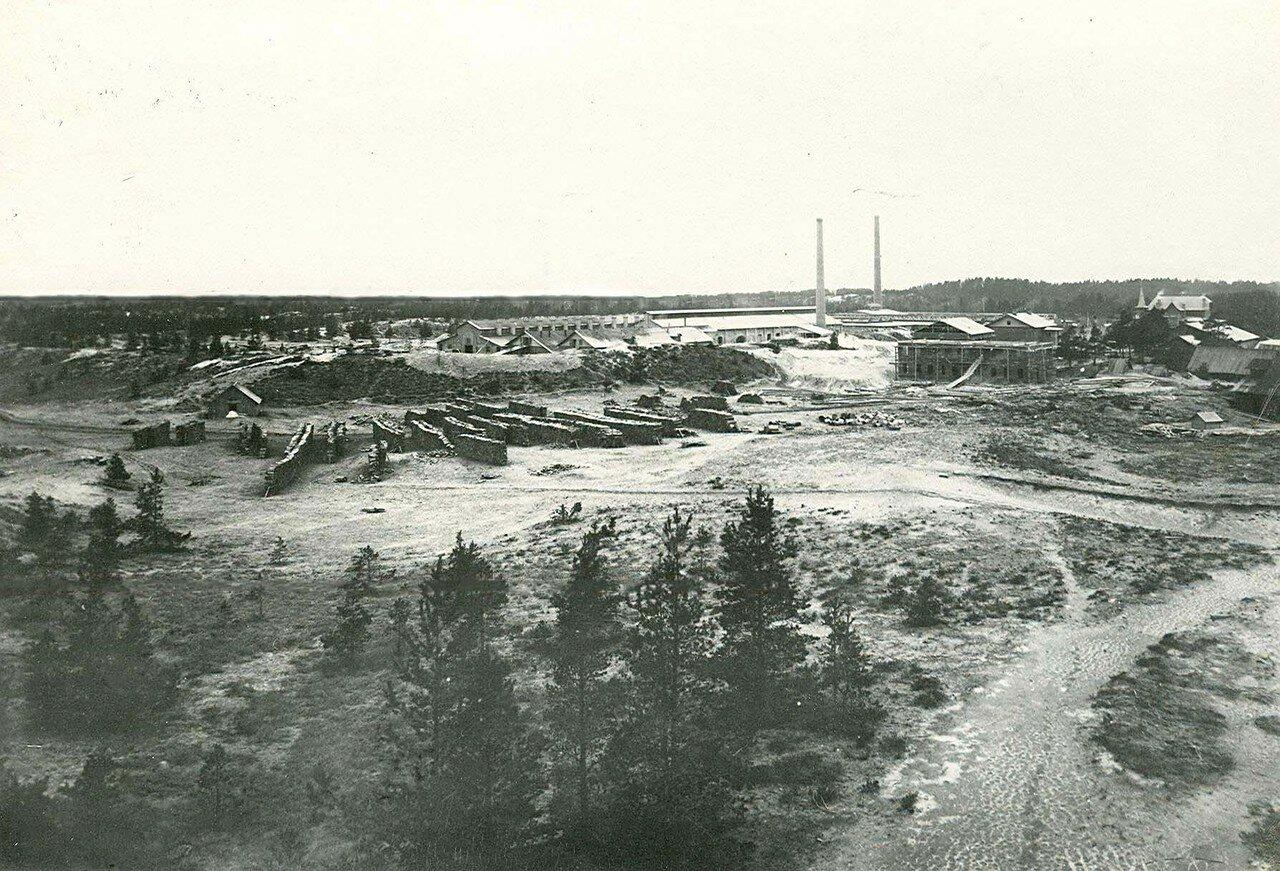 12. Общий вид территории стекольного завода