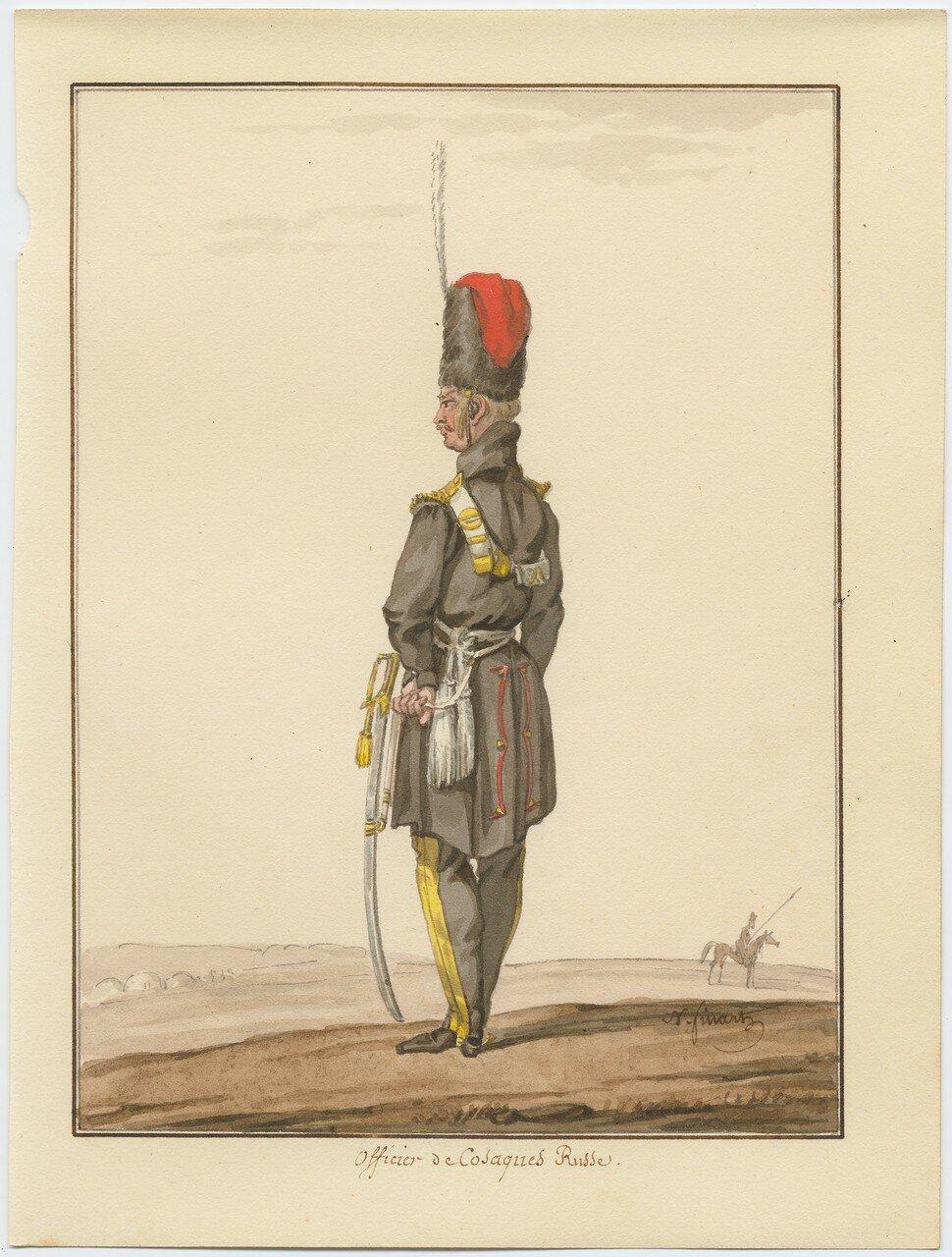 Казачий офицер 1815