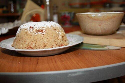 воздушный торт на кефире