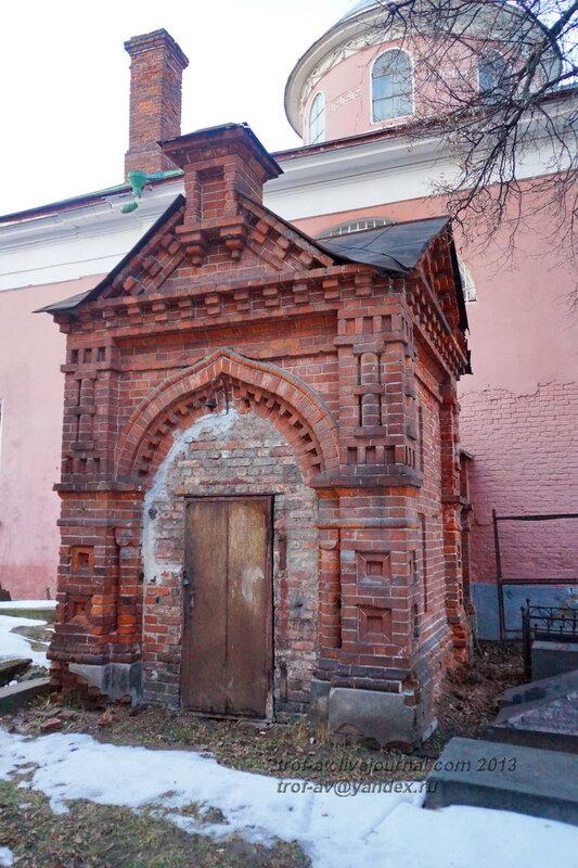 Пристройка у больничных келий, Донской монастырь, Москва