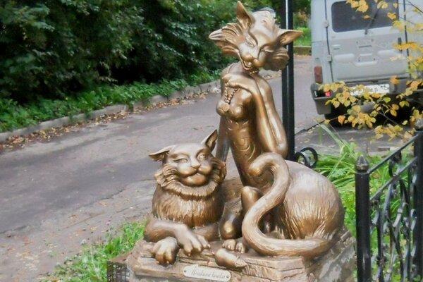 йошкина кошка скульптура
