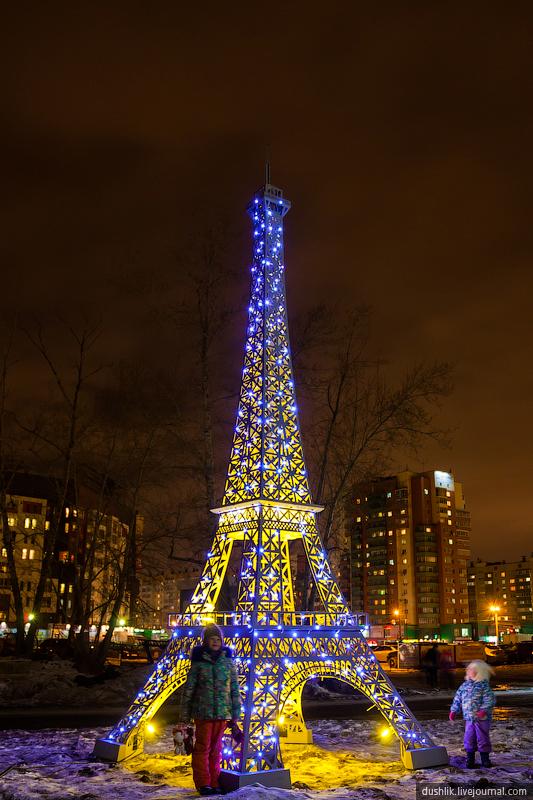 Башня уже стала популряным местом для фотографирования (26.11.2014)