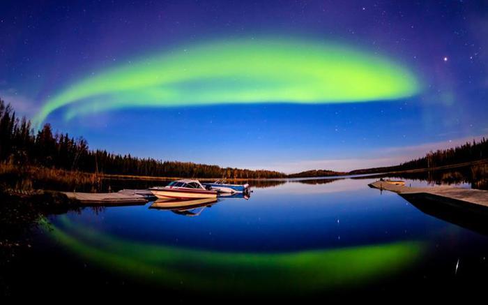 Красивые фотографии полярного сияния 0 10d644 9b2daed4 orig