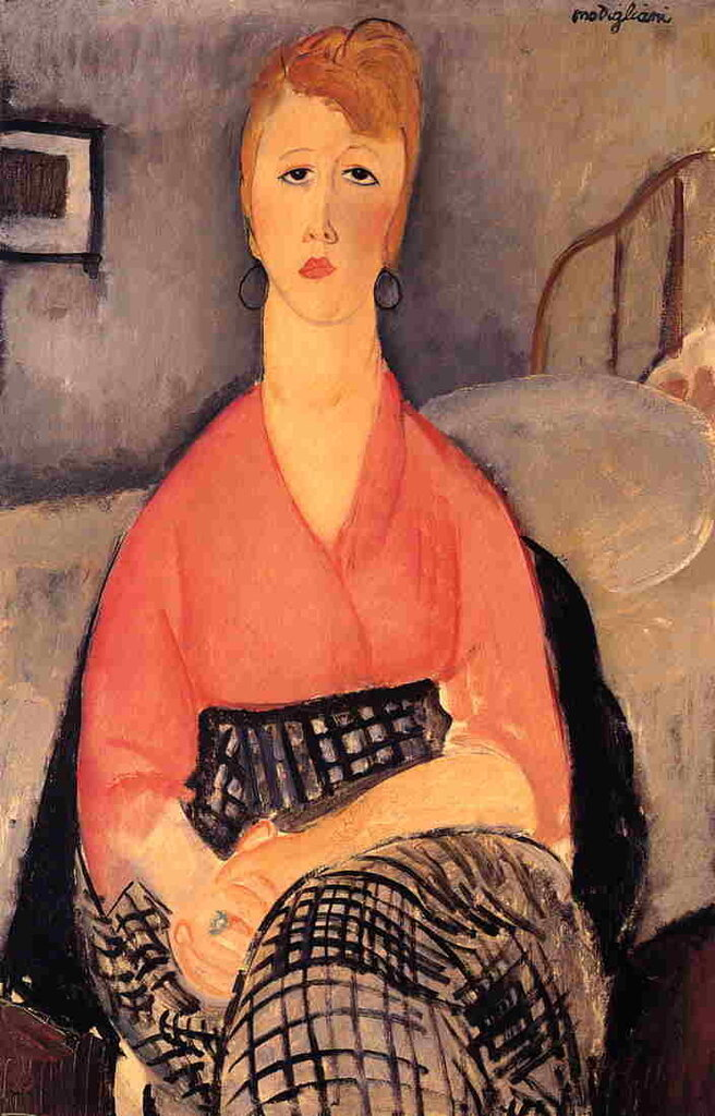 Pink Blouse - 1919 - Musee Angladon - Avignon - Painting - oil on canvas.jpeg