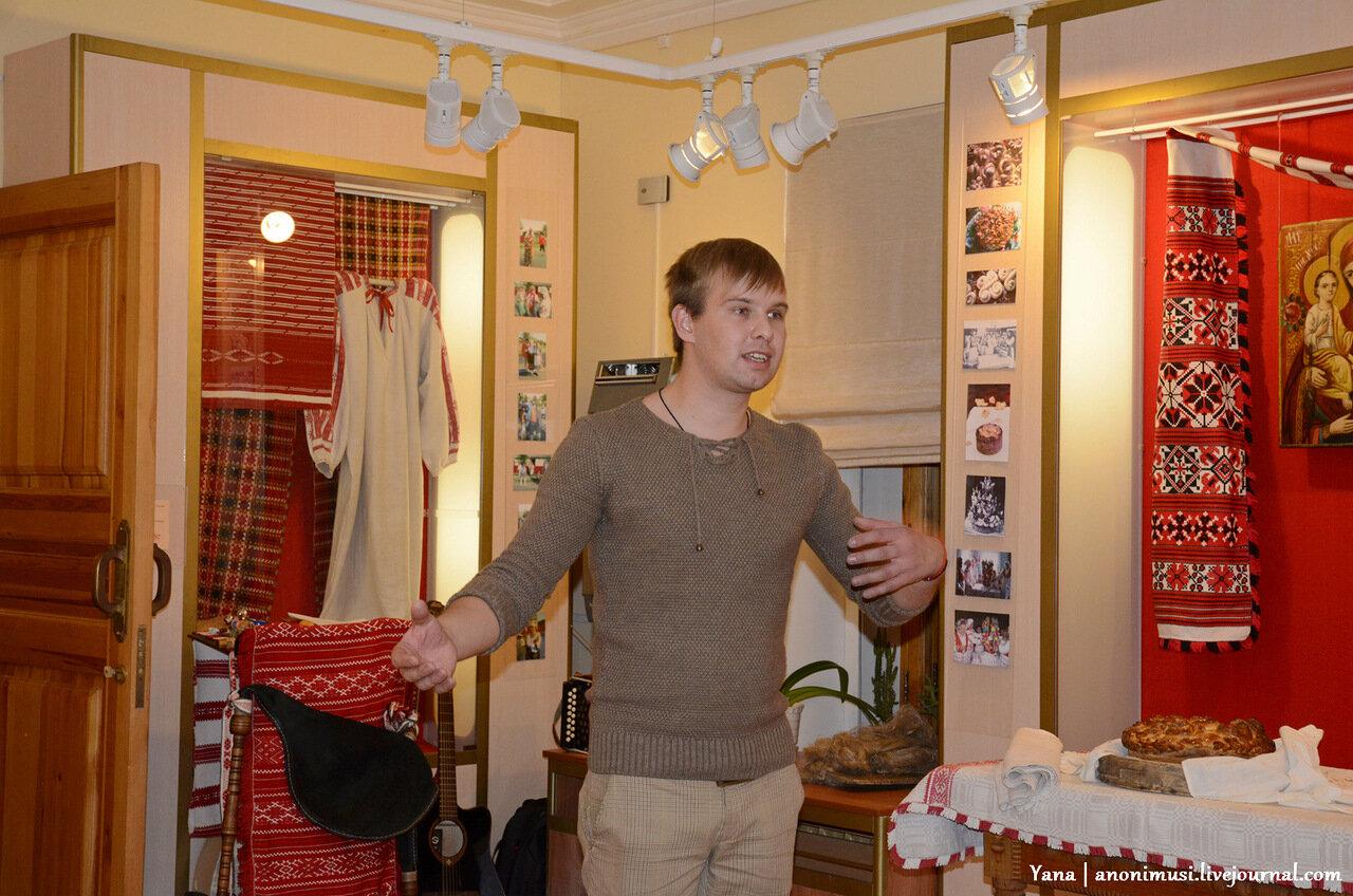 Петр Цалко заведующий филиалом Ветковского музея в Гомеле