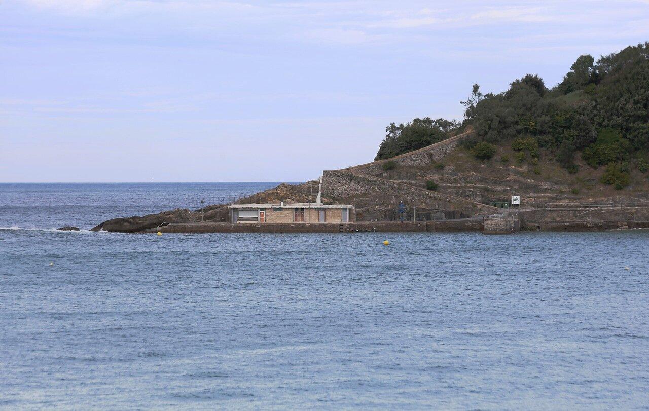 Donostia-San Sebastian. The Island Of Santa Clara