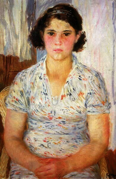 Женский портрет, 1937 г.