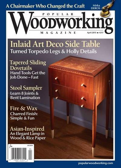 Книга Подшивка журналов: Popular Woodworking №№216,217 (февраль, апрель 2015)[En]