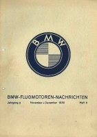 Книга BMW Flugmotoren - Nachrichten. Jahrgang 2. Heft 6. November - Dezember 1930 pdf