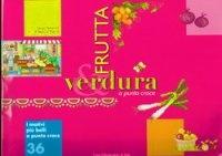 Журнал I motivi piu belli a Punto Croce №36 - Frutta & Verdura jpg 62,36Мб