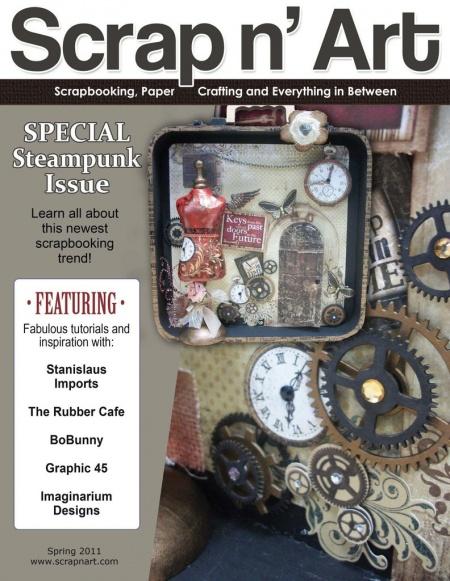 Книга Подшивка журналов: Scrap N' Art (2010 - 2011) [En]
