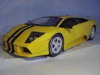 Книга Бумажная модель-Lamborghini Murcielago.