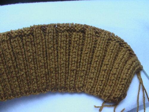 Мастер-класс по вязанию шапочки с узором
