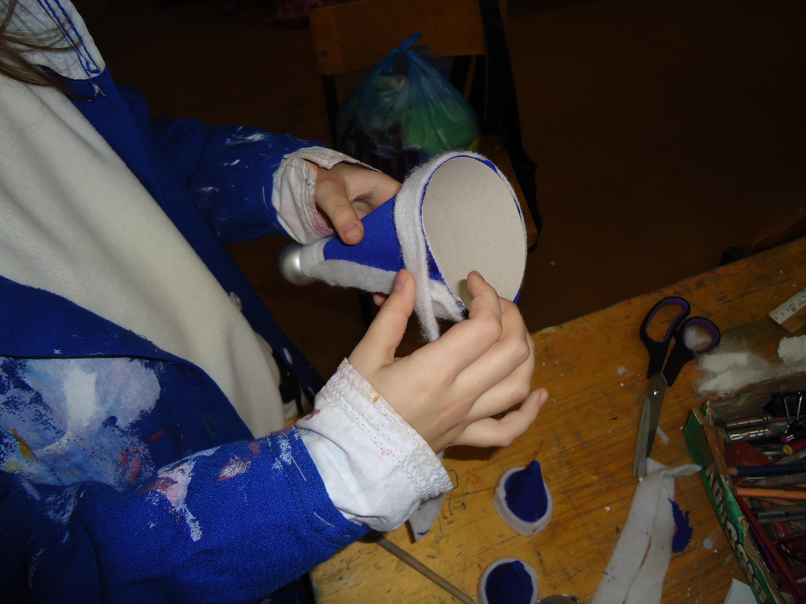 Изготовление деда Мороза
