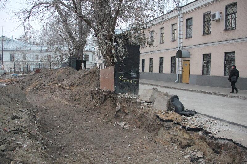 Реконструкция Хитровской площади. 27.11.2014
