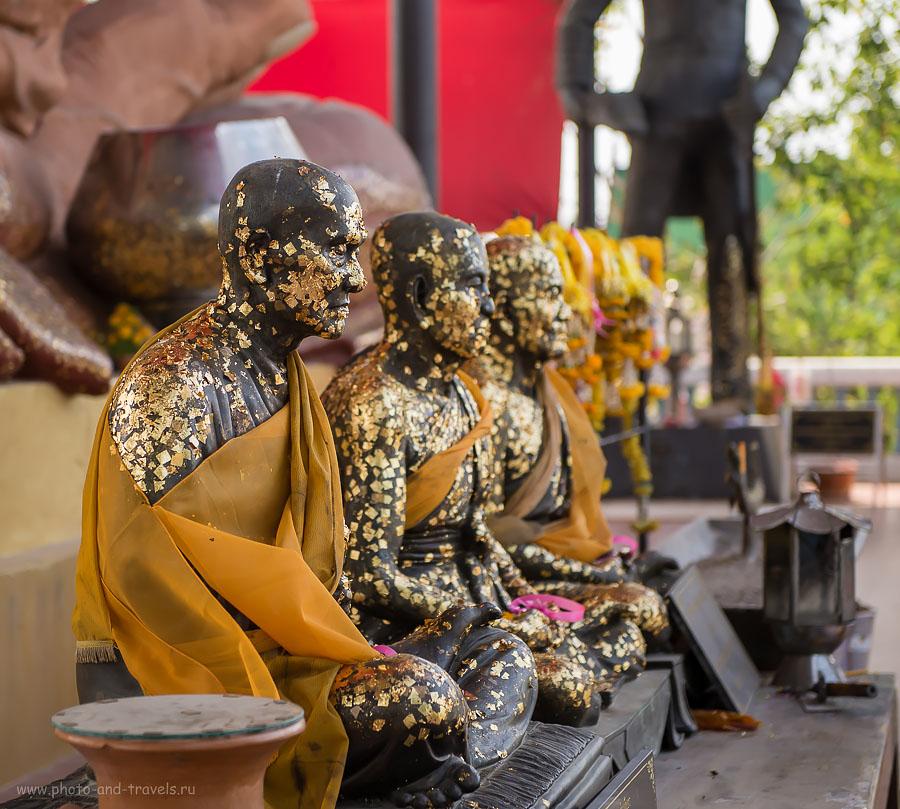 Фотография 19. Монахи. Путешествие по Таиланду на автомобиле. Окрестности Хуахина.